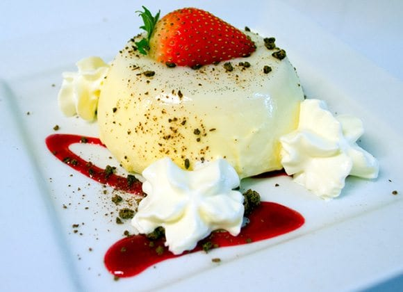 White Chocolate Pannacotta