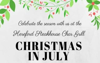 Chill N Glen and Christmas in July