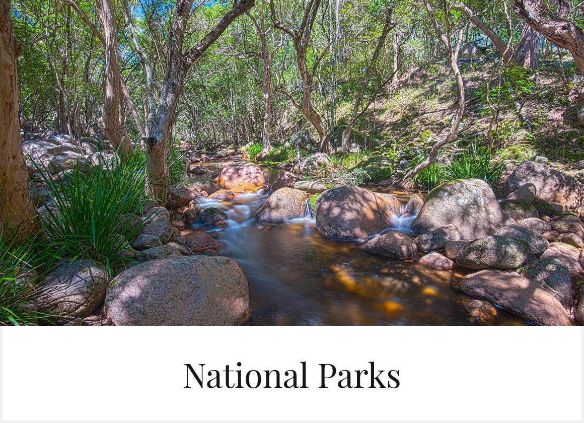 Glen Innes Highlands national parks