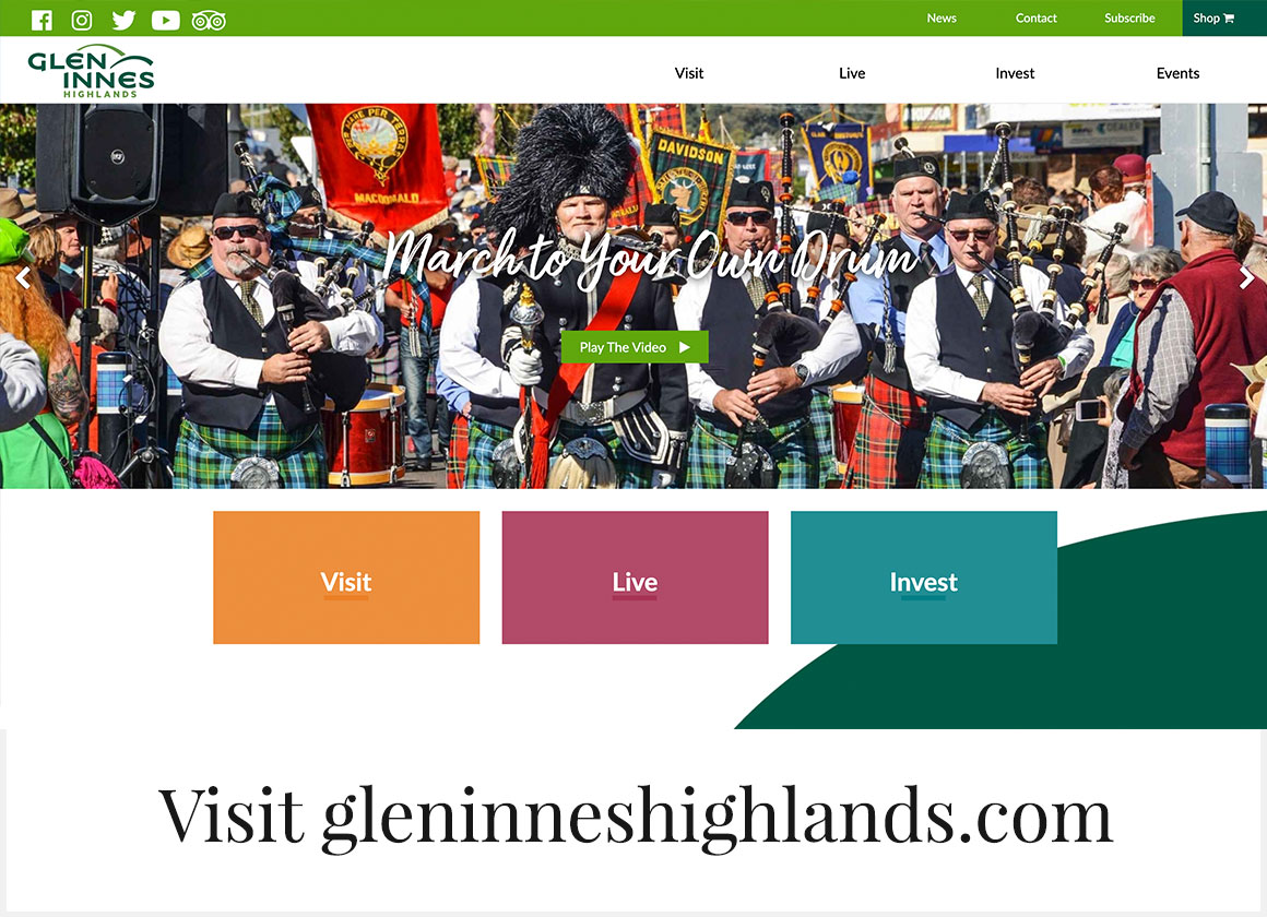 visit GlenInnesHighlands.com